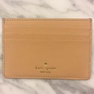 kate spade Bags - Kate spade black and tan card holder ID wallet